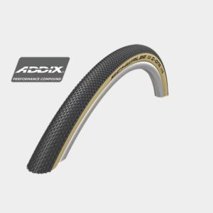 Däck Schwalbe G-One Allround RaceGuard Addix 35-622 (28x1.35 700x35C) Classic Skin vikbart svart