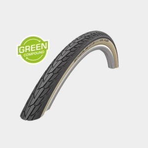 Däck Schwalbe Road Cruiser Green Compound K-Guard Gumwall 47-622 (700 x 45C / 28 x 1.75)