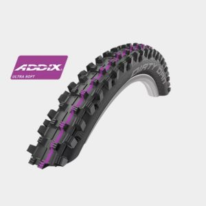 Däck Schwalbe Dirty Dan Downhill Addix Ultra Soft 60-622 svart