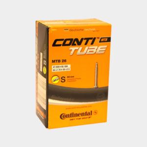 """Slang Continental MTB 26"""" 47/62-559 racerventil 60 mm"""