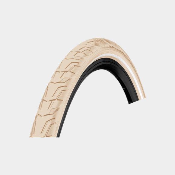 Däck Continental RIDE City ExtraPuncture Belt 37-622 (700 x 35C / 28 x 1 3/8 x 1 5/8) reflex creme