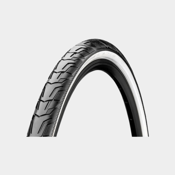 Däck Continental RIDE City ExtraPuncture Belt 42-622 (700 x 40C / 28 x 1.60) reflex svart/vit