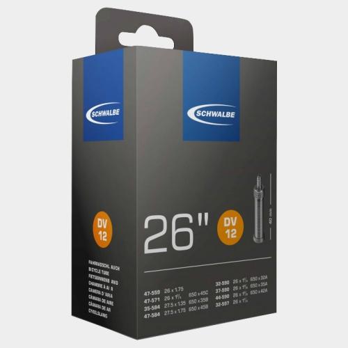 Slang Schwalbe DV12 47-559 47-571 35/47-584 32/44-590 32-597 cykelventil 40 mm (50-pack utan förpackning)