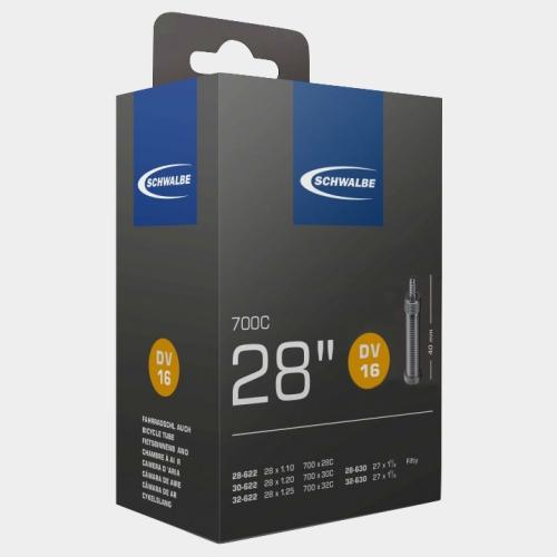 Slang Schwalbe DV16 28/32-622 28/32-630 cykelventil 40 mm