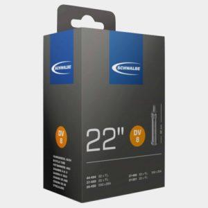 Slang Schwalbe DV8 28-490 37-489 37-490 37-501 44-484 cykelventil 32 mm