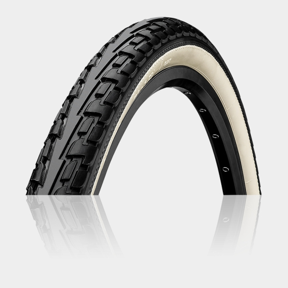 Däck Continental RIDE Tour ExtraPuncture Belt 32-630 (27 x 1 1/4) svart/vit