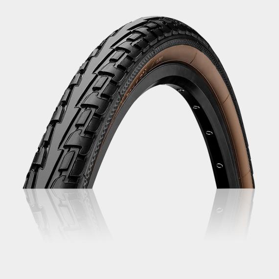 Däck Continental RIDE Tour ExtraPuncture Belt 47-559 (26 x 1.75) svart/brun