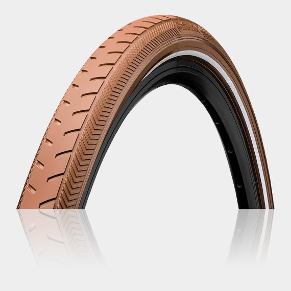 Däck Continental RIDE Classic ExtraPuncture Belt 40-635 (700 x 38B / 28 x 1 1/2 x 1 3/8) reflex brun