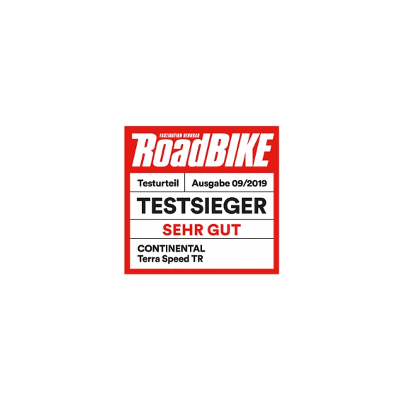 Däck Continental Terra Speed ProTection TLR ProTection 40-622 (700 x 38C / 28 x 1.50) vikbart