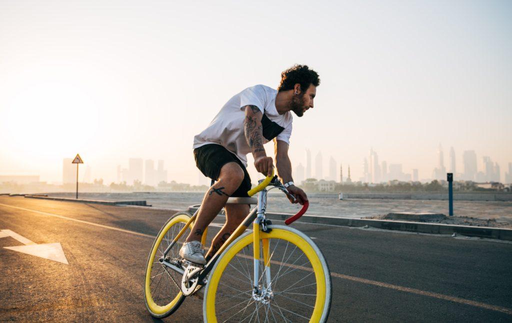 härlig cykling