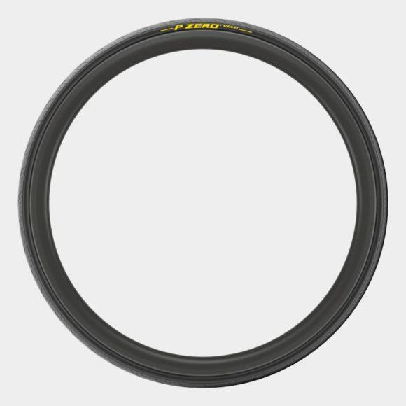 Tubdäck Pirelli P ZERO Velo Tubular Aramid Breaker Yellowsoft 25-622 (700 x 25C / 28 x 1.00) vikbart