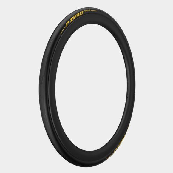 Däck Pirelli P ZERO Velo Yellow Edition Aramid Breaker SmartNET Silica 25-622 (700 x 25C / 28 x 1.00) vikbart