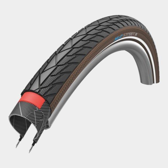 Däck XLC VT-C04 Street X Puncture Protection 42-622 (700 x 40C / 28 x 1.60) reflex