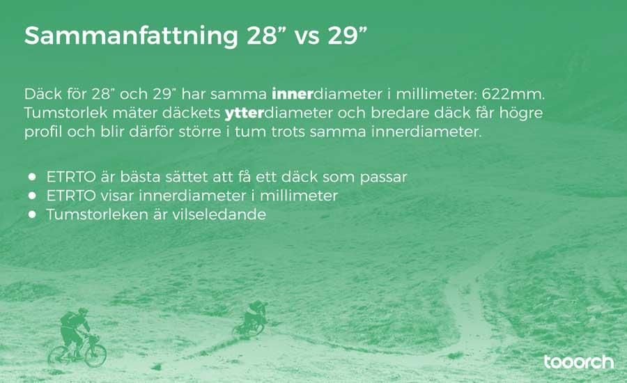 """sammanfattning 28"""" vs 29"""""""