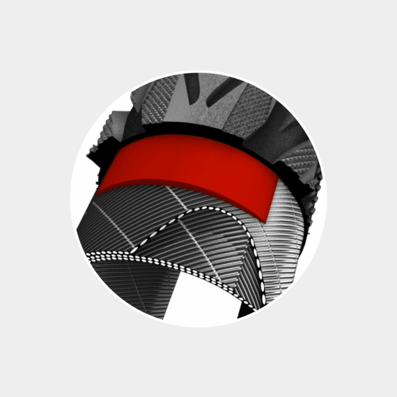 Däck Impac Streetpac Puncture Protection 47-622 (700 x 45C / 28 x 1.75) reflex beige