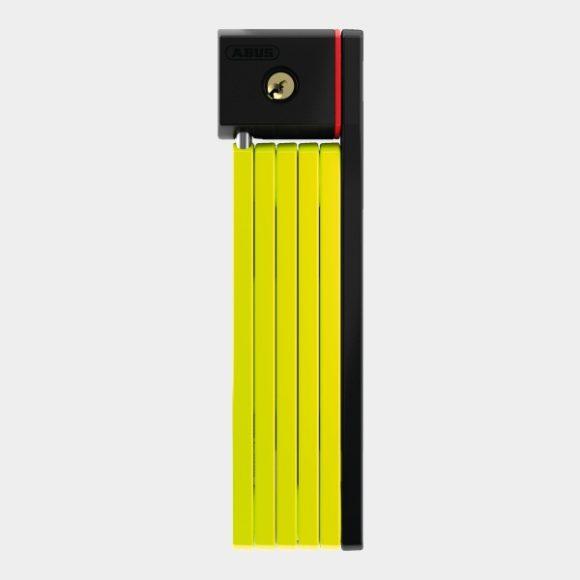 Vikbart lås ABUS uGrip Bordo 5700, 80 cm, lime, inkl. fäste (SH)