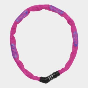 Kättinglås ABUS Steel-O-Chain 4804C, 75 cm, Ø4 mm, rosa