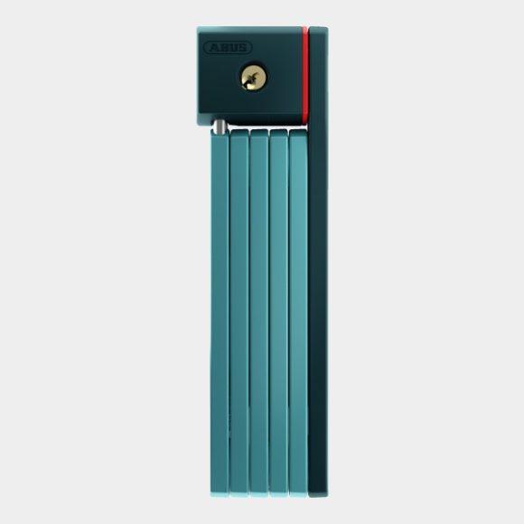 Vikbart lås ABUS uGrip Bordo 5700, 80 cm, Core Green, inkl. fäste (SH)