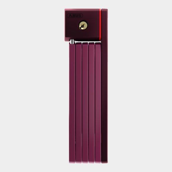 Vikbart lås ABUS uGrip Bordo 5700, 80 cm, Core Purple, inkl. fäste (SH)
