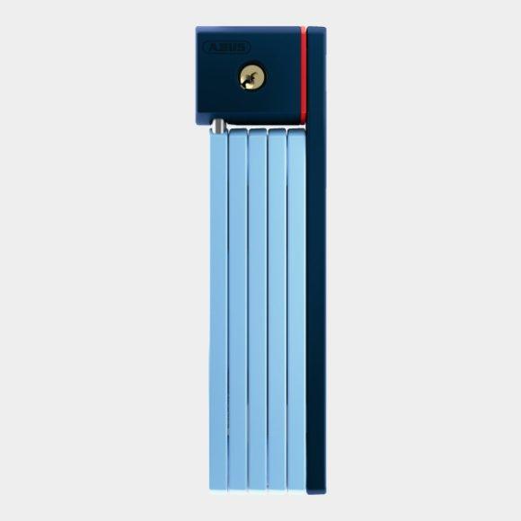 Vikbart lås ABUS uGrip Bordo 5700, 80 cm, Core Blue, inkl. fäste (SH)