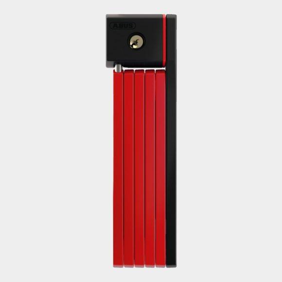 Vikbart lås ABUS uGrip Bordo 5700, 80 cm, röd, inkl. fäste (SH)
