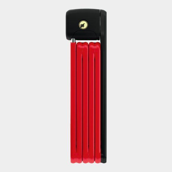 Vikbart lås ABUS Bordo Lite 6055, 85 cm, röd, inkl. fäste (SH)