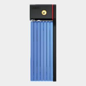 Vikbart lås ABUS uGrip Bordo 5700, 100 cm, blå, inkl. fäste (SH)
