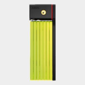 Vikbart lås ABUS uGrip Bordo 5700, 100 cm, lime, inkl. fäste (SH)