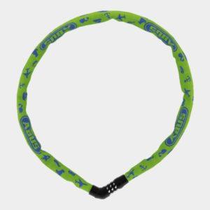 Kättinglås ABUS Steel-O-Chain 4804C, 75 cm, Ø4 mm, Lime Symbols