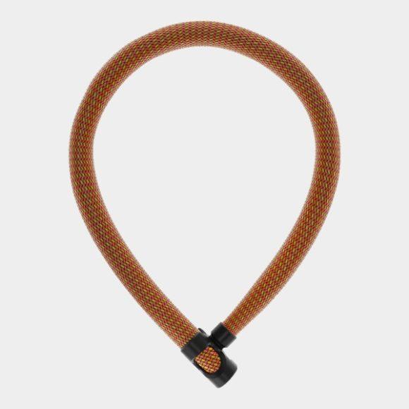 Kättinglås ABUS IVERA Chain 7210, 85 cm, Ø7 mm, Sparkling Orange