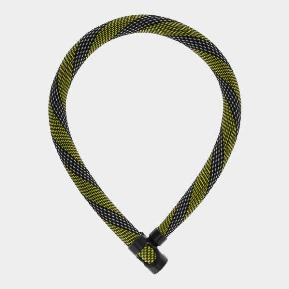 Kättinglås ABUS IVERA Chain 7210, 85 cm, Ø7 mm, Racing Yellow
