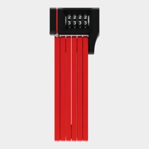 Vikbart lås ABUS uGrip Bordo 5700C, 80 cm, röd, inkl. fäste (SH)