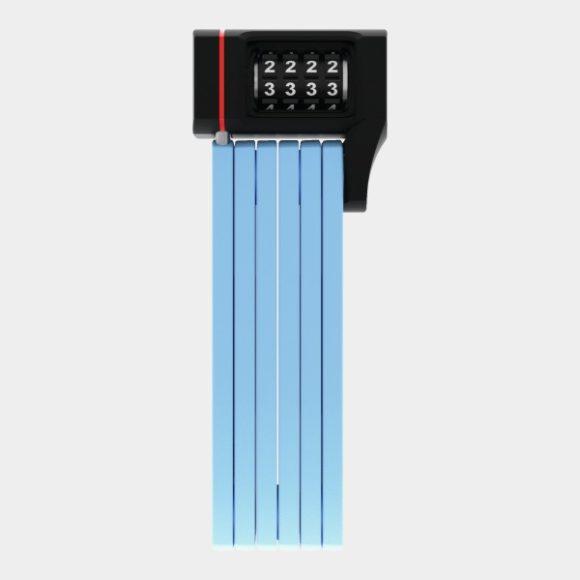 Vikbart lås ABUS uGrip Bordo 5700C, 80 cm, Core Blue, inkl. fäste (SH)