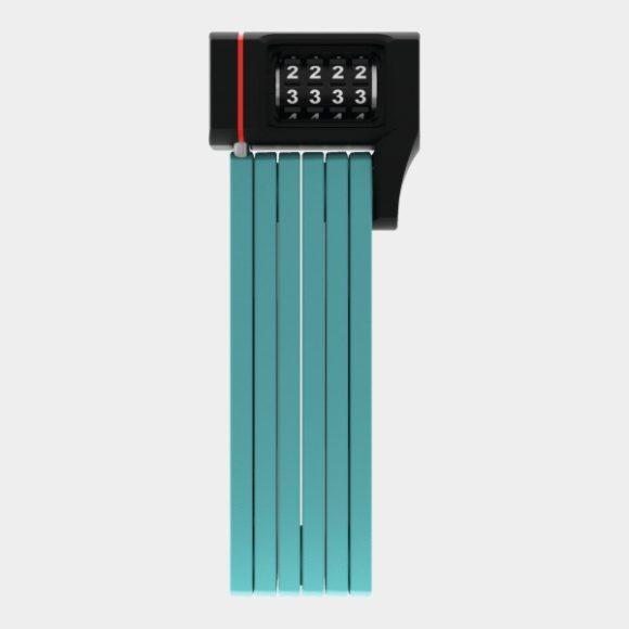 Vikbart lås ABUS uGrip Bordo 5700C, 80 cm, Core Green, inkl. fäste (SH)