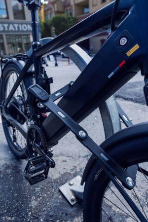 Vikbart lås ABUS Bordo Granit X-Plus 6500, 110 cm, inkl. fäste (SH)