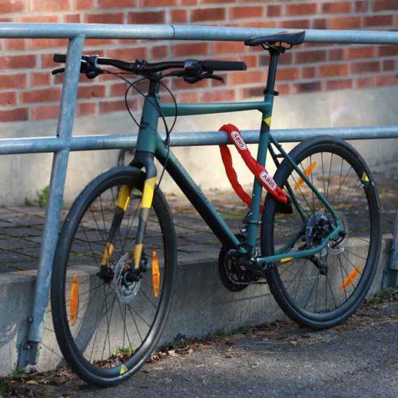 Kättinglås ABUS 8900, 85 cm, Ø8 mm, röd