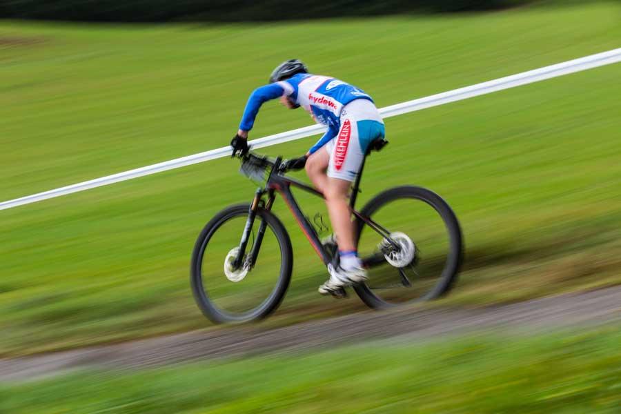 slanglösa däck på XC-cykel