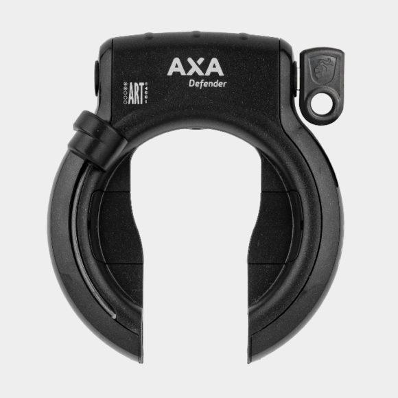 Ramlås AXA Defender + Ramlåskätting Plug-in AXA RLC, 100 cm, Ø5.5 mm + väska