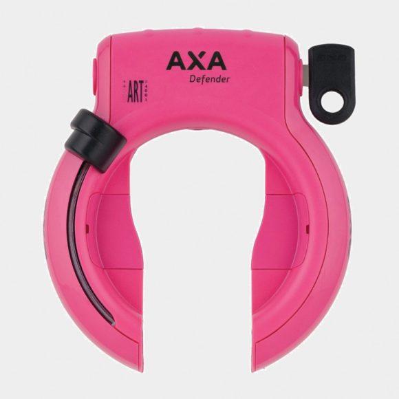 Ramlås AXA Solid, rosa
