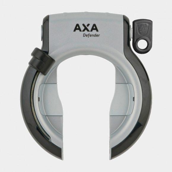 Ramlås AXA Defender Retractable, grå