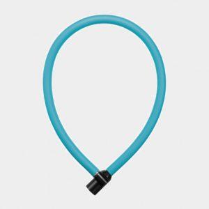 Vajerlås AXA Resolute, 60 cm, Ø6 mm, ljusblå