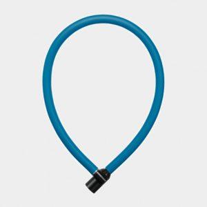 Vajerlås AXA Resolute, 60 cm, Ø6 mm, blå