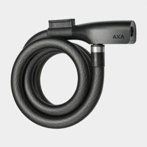 Spirallås AXA Resolute, 120 cm, Ø15 mm, inkl. fäste