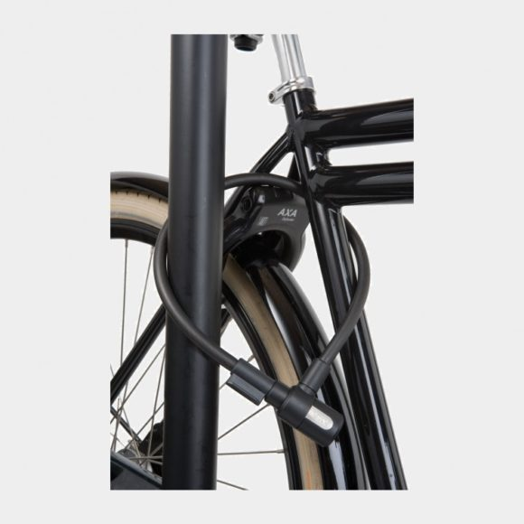 Spirallås AXA Newton, 60 cm, Ø12 mm, inkl. fäste
