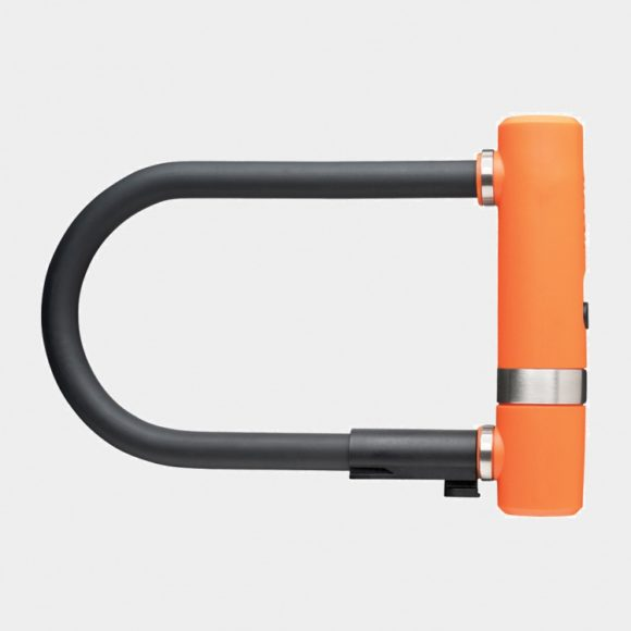 Bygellås AXA Newton Pro, 190 mm, orange, inkl. fäste