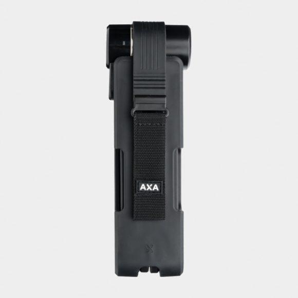 Vikbart lås AXA Newton FL90K, 90 cm, inkl. fäste