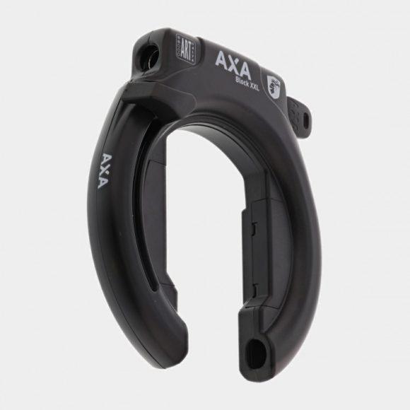 Ramlås AXA Block XXL + Ramlåskätting Plug-in AXA ULC, 100 cm, Ø5.5 mm + väska