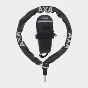 Ramlåskätting Plug-in AXA RLC, 100 cm, Ø5.5 mm + väska