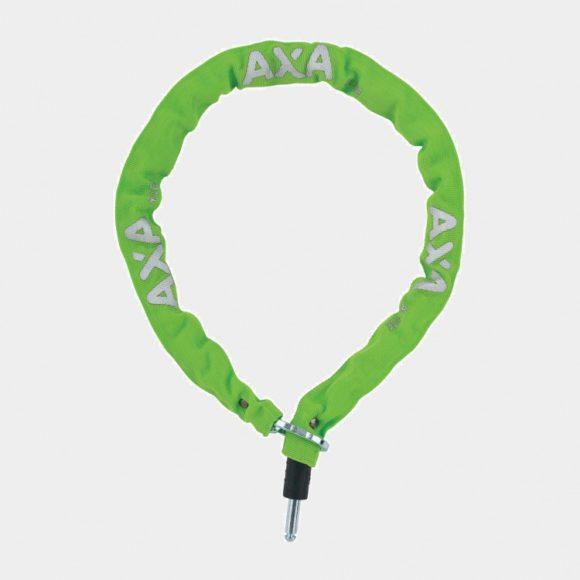 Ramlåskätting Plug-in AXA RLC, 100 cm, Ø5.5 mm, grön