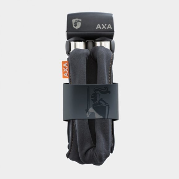 Vikbart lås AXA Foldable 600, 95 cm, grå, inkl. fäste